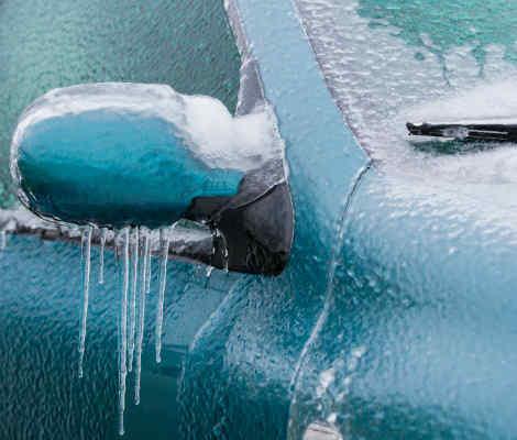 Предпазване на автомобила от заледавяне и замръзване